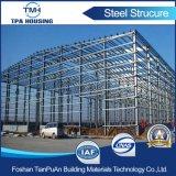 Casa prefabricada confeccionada prefabricada de la estructura de acero de la calidad estupenda