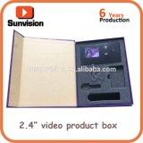 """1.8 """" a 10.1 """" LCD que anunciam a caixa video do produto do livro"""