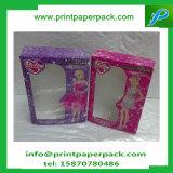 贅沢な浮彫りになる装飾的なカードの荷箱のLipglossの紙箱の収納箱の毛包装ボックス
