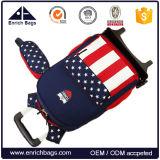 Le sac de déplacement à roues par enfant badine le sac d'école de roulement avec des roues