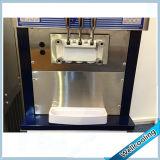Machine molle mélangée de crême glacée de la saveur 2+1