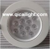 3X1w shell blanco LED Downlight