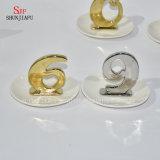 Ceramisch Galvaniseren van de Toren van het Rek van de Organisator van de Houder van de Armband van de Oorring van de Halsband van de Vertoning van de Juwelen van de Vorm van brieven