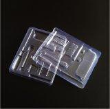 Boîte en plastique en PVC Tournevis en métal transparent Emballage en plastique