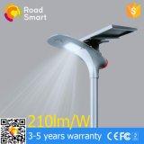 vendas diretas da fábrica de 15W 20W, 5 anos de garantia, um novo tipo de lâmpada de rua solar Integrated