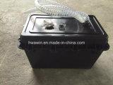 太陽街灯の地下の蓄電池外箱