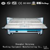 Hojas industriales completamente automáticas del lavadero de la alta calidad (3000m m) plegables la máquina