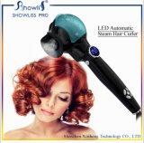 Nuevo bigudí automático del hierro del pelo del LED