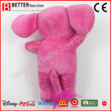 En71 여자 아기를 위한 귀여운 서 있는 분홍색 코끼리
