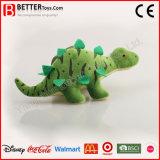 Stegosaurus de dinosaur de jouet de peluche de peluche
