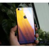 iPhone7のための新しい到着オイルのめっきのプラスチックパソコンカバー堅いケース
