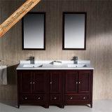 Governo del bagno del dispersore di vanità della stanza da bagno di legno solido del caffè espresso di Fed-1066b singolo