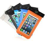 Bolso impermeable modificado para requisitos particulares caso móvil impermeable caliente del teléfono de Bag&Case del teléfono del cuero de la venta