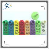 8 kleuren die de Markering van het Oor van Schapen voor Geit nummeren