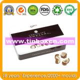 Rechteckiger Schokoladen-Zinn-Kasten, Nahrungsmittelzinn-Verpackung, Schokoladen-Zinn-Verpacken