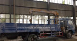 6 roues 4 tonnes de grue de camion télescopique de charge ont monté avec la grue de XCMG pour l'exportation