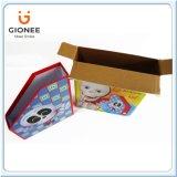 Boîte-cadeau ondulée estampée par coutume avec le tiroir de carton