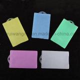 Portatarjetas barato al por mayor de la identificación del plástico, sostenedor de la tarjeta de crédito