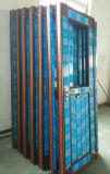 チークカラーのコンシュPVC/UPVCの浴室のドア