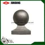 Roheisen-Kugel-Art-Pfosten-Schutzkappen-bearbeitetes Eisen-Oberseite