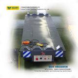 Carro liso de transferência elétrica industrial do trilho do uso