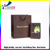 Logo personnalisé Wholesale Kraft Paper Promotional Bag