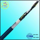 Isolation du PVC anti-flamme Câble de contrôle blindé à bande de cuivre