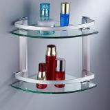 vetro Tempered di galleggiamento della mensola della stanza da bagno della radura di 10mm