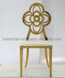 Projeto dourado de Backsimple que janta a cadeira para o restaurante