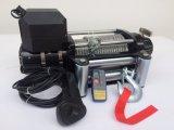 Torno eléctrico torno ideal de la recuperación de 9500 libras al nivel de entrada campo a través