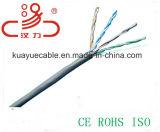 Câble d'acoustique de connecteur de câble de transmission de câble de caractéristiques de câble du câble LAN Utpcat5e CCA/Cu /Computer