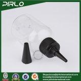 100ml 3.3oz Garrafa de plástico transparente com boné de unicórnio para produtos farmacêuticos