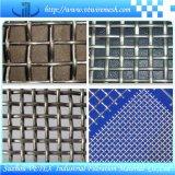 Quetschverbundener quadratischer Maschendraht verwendet im Gebäude