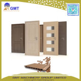 Protuberancia ancha Madera-Compuesta del panel de la puerta del PVC del plástico WPC que hace la máquina