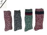 Zwei Socken der Farben-Männer Baumwoll(RY-SC1633)