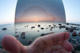 Revestido à prova de água anti-reflexivo Anti-Scratch Gradual Neutral Density (GND) Filtros ópticos