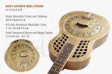 Guitarra de cobre amarillo del resonador de la diapositiva de los azules de Duolian Bell de la marca de fábrica de Aiersi con BV/SGS Certficate