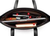 Echtes Leder-Laptop-Handtasche für Dame