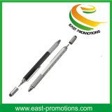 5 in 1aluminum de Multifunctionele Pen van het Hulpmiddel met de Pen van het Niveau en van de Schroevedraaier