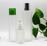 Frasco geado do animal de estimação da venda plástico quente com bomba/tampão para o empacotamento do cosmético (PPC-PB-058)