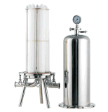 Filtro sanitário da carcaça de filtro do multi cartucho para o tratamento da água farmacêutico