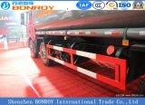 Caminhão de tanque líquido do petróleo de FAW J6m 324HP 8X4