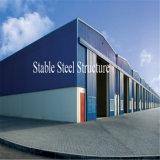 Vorfabrizierte Geländer-Wand-Stahlkonstruktion-Werkstatt