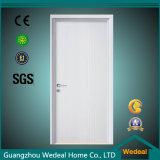 Porta branca de madeira nivelada da porta de balanço da cereja da porta para o escritório