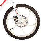 Bicicleta elétrica escondida quadro da bateria da liga de 20 polegadas mini