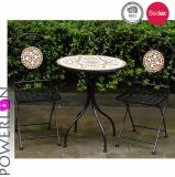 모자이크 작은 술집 고정되는 테이블 및 의자