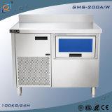Creatore di ghiaccio della macchina di fabbricazione di ghiaccio con Workbench for Barra di approvvigionamento