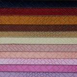 Мягкая прочная синтетическая сплетенная кожа сумок (H1552)