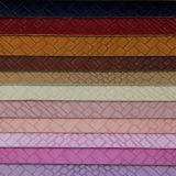 Cuoio tessuto sintetico delicatamente durevole superiore delle borse di vendita (H1552)