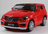 Benz genehmigte Fahrt auf Auto für zwei Kinder